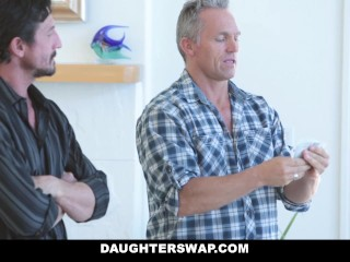 DaughterSwap - Naive Teenagers Tricked Into Fucking Their Dads