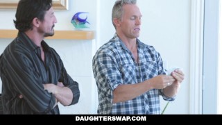 DaughterSwap - Naive Teenagers Tricked Into Fucking Their Dads porno