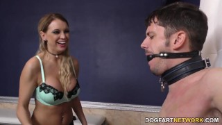 Kenzie Taylor Does Black Cock Anal - Cuckold Sessions  big black cock big-tits fishnet blowjob pornstar big-boobs busty ass-fuck hardcore interracial dogfartnetwork gagging deepthroat anal stockings