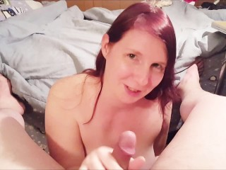 Foxy Ginger love to Give Head and Swallow Cum