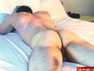 Ass massage to straight guys !