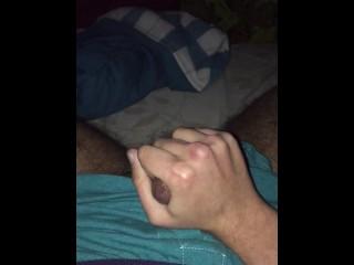 Masturbating!! Lots of cum mmm