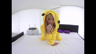 Playful Pickachu knows what to show you Mypickupgirls.com fingering