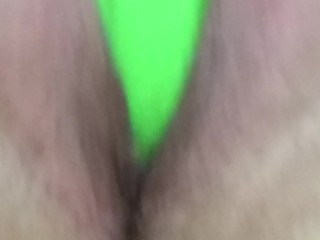 Wet Pussy - Green Toy --