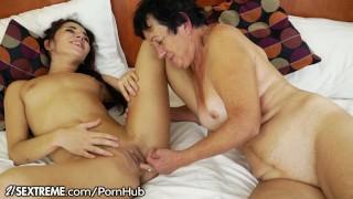 21Sextreme Teen Facesits on Grandma