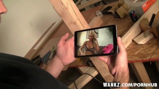 WANKZ- Super Stacked MILF Jennifer Best Caught in the Act College leigh