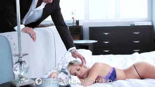 FantasyHD Sleeping girlfriend wakes up for lubed fuck and creampie  fantasyhd sexy fake-tits cum-inside oiled female-friendly hard-fast-fuck big-natural-tits drilled big-tits shaved-pussy hd dildo blowjob hardcore sex porn tasha-reign