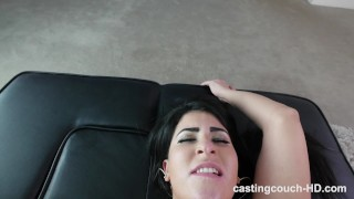 Amateur real struggles deal pleasing bbc first one her a natural cumshot