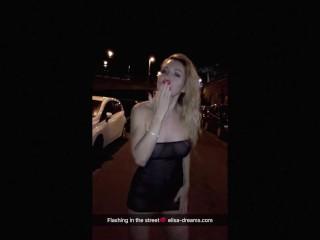 Flashing and Public nudity Snapchats