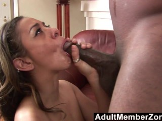 AdultMemberZone - Estella Leon's Got A Face Covered In Cum