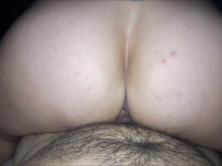 Preview 4 of Riding that cock hard and getting blasted with a huge hot load!