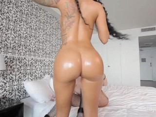 Sara Jay and Ameera Lesbian Action(Huge Asses)