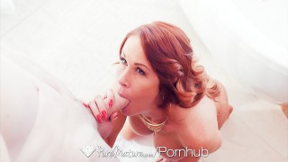 PURE MATURE Busty milf Sabrina Cyns shows her experienced fucking skills  shaved-pussy hd old sexy mom busty hardcore curvy puremature sex porn mother facial sabrinacyns hot milf busty milf
