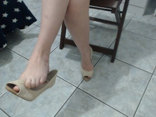 Over 30 Hardcore Tube Dangling Prom Heels, Amateur Teen Feet Exclusive Models