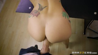 Brazzers - Perfect POV with Monique Alexander  cock-sucking point-of-view redhead blowjob tattoo big-boobs pov titty-fuck brazzers fetish handjob stroke ink heels strokejob