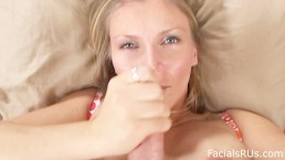 Hot Russian Step Mom makes video Sucking Your Cock On Valentines Day