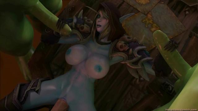 world of warcraft sylvanas porn