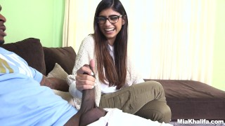 Mia Khalifa Tries A Big Black Dick (mk13775)  interracial butt arab big ass monstersofcock miakhalifa bangbros lebanese pornstar