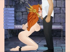 Leona from League of Legends dominated in Super Deepthroat