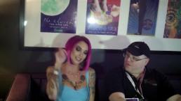Annabell Peaks w/ Jiggy Jaguar AVN Expo 2017 Las Vegas NV