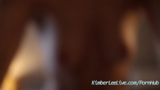 Teen Kimber Lee Catches Peeping Tom through Hotel Window!