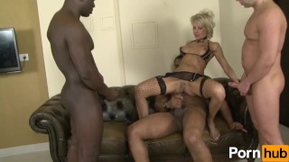 pierced dildo blonde mom mother shaved-pussy gangbang deep-throat interracial dp hardcore stockings big-tits ass-fuck bbc airtight