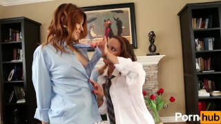 Shirt And Tie Lesbians - Scene 2