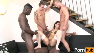 Planet Gangbang 05 - Scene 1 3some penetration