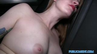 Public Agent Inked ginger earns cash for fucking  outdoors shaved-pussy ginger outside point-of-view sex-for-cash amateur cumshot tattoo hardcore real camcorder sex-for-money natural-tits spanish publicagent