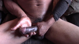 Yunghung81 (Mr.XL) at it again. Rubbing BBC and shooting cum everywhere!!