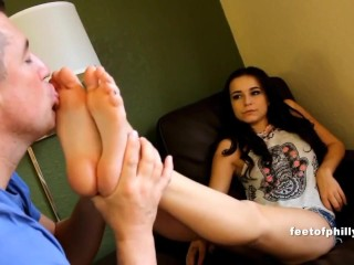 First Time Foot Worship For Teen