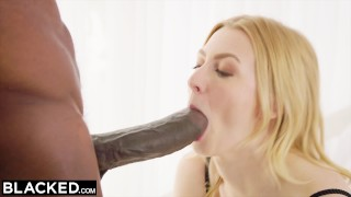 BLACKED Alexa Grace fucks BIGGEST BBC IN THE WORLD!  cowgirl petite blacked doggystyle facial bbc lingerie riding booty blonde blowjob