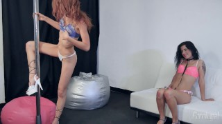 Susana and Lilly Are Two Hot Portuguese Lesbians On The Pole