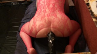 Outfit and rambon red anal homemade