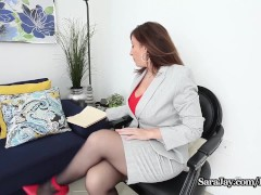 Busty Teacher Sara Jay want you to Earn Xtra Credit!