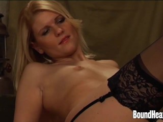 Lesbian Mistress Undressed And Kissed By Young Slave