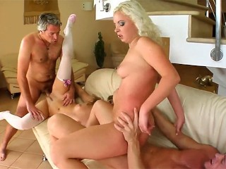 Jacqueline - Angelina swapping sperm at SpermSwap