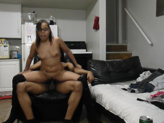 Private Lap Dance Creampie Fuck with Mya Love