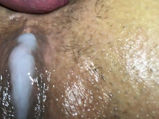 Asian cum creampie