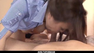 Into cock takes ai hairy pussy airi inches large asian her of action riding