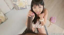 Shy Japanese Girl Marica Hase krijgt Monsters van Cock Anal (mc15033)