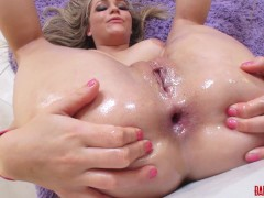 Lesbian Pussy Licking and Anal Play with Anikka and Mia