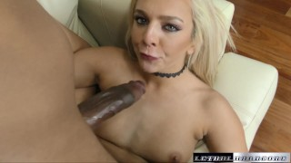 Tiffany needs BBC and she gets one deep in her cunt porno