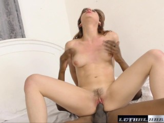 Audrey wants that internal orgasm that only big black cock and give
