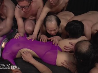 Bangyoulayer 10 On 1 Gangbang, Bukkake Pornstar Squirt Gangbang 60fps Japanese