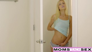 Cum Craving Teen Alex Grey Fucks Stepmom & Brother  brandi-love riding big-tits threeway mom blonde momsteachsex tiny-teen skinny milf smalltits step-sister step-sis mother threesome big-dick step-mom bigcock doggystyle