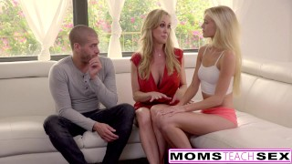 Cum Craving Teen Alex Grey Fucks Stepmom & Brother  riding threeway mom blonde momsteachsex skinny milf smalltits mother threesome bigcock doggystyle brandi love