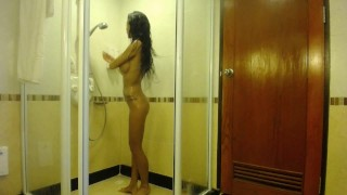 MiaMaxxx Luxury Tattooed Cover Girl shower scene  butt european miamaxxx bombshell masturbate