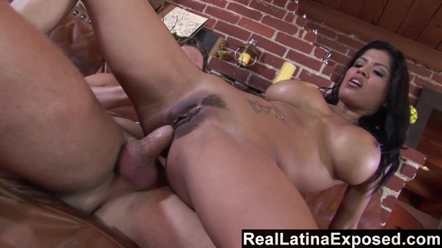 Busty alexis amore - Reallatinaexposed - anal cherry popping with big tits alexis amore