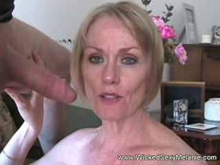 Melanie blowjob